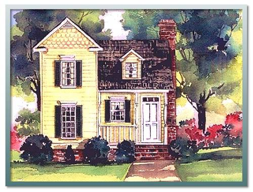 Authentic historical designs llc for Classic cottage house plans