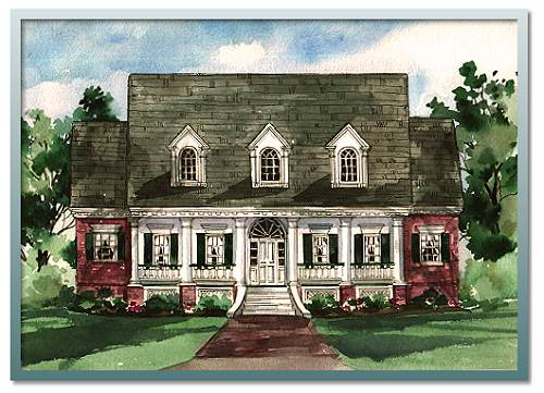Home Plans Louisiana authentic historical designs, llc
