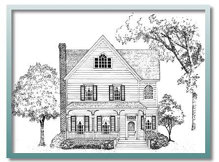 Authentic historical designs llc house plan for Authentic victorian house plans